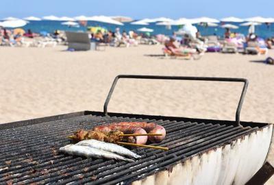 È possibile fare un barbecue sulla spiaggia