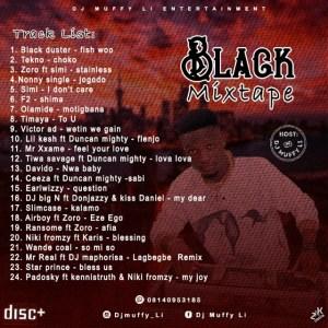 Dj MUFFY LI - Black Mixtape