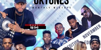 DJ R2 - Oktunes Monthly Mixtape(November Edition)