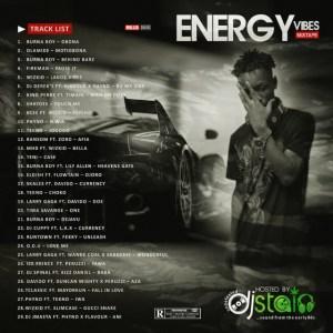 DJ Stain – Energy Vibes Mixtape