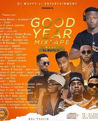 Dj Muffy Li - Good year mixtape