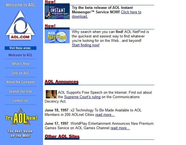 apple youtube ve digerleri web siteleri 90li yillarda nasil gorunuyordu 8 BrQkRnfd - Apple, YouTube ve Diğerleri: Web Siteleri 90'lı Yıllarda Nasıl Görünüyordu?