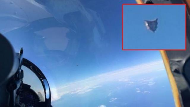 Pentagon'un raporu sızdı! Savaş pilotunun çektiği UFO fotoğrafı ortaya çıktı, OkuGit.Com - Tarih, Güncel, Kadın, Sağlık, Moda Bilgileri Genel Bloğu