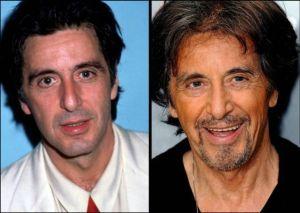 Al Pacino 300x213 - Ünlülerin Genç ve Yaşlı Halleri