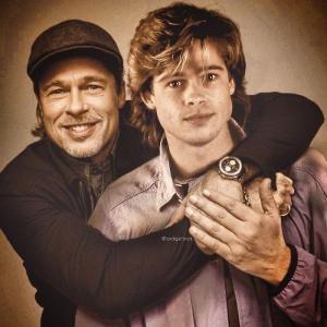 Brad Pitt 300x300 - Ünlülerin Genç ve Yaşlı Halleri