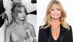 Goldie Hawn 300x174 - Ünlülerin Genç ve Yaşlı Halleri