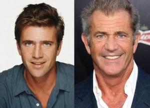 Mel Gibson 300x217 - Ünlülerin Genç ve Yaşlı Halleri