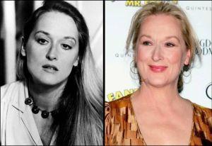 Meryl Streep 300x206 - Ünlülerin Genç ve Yaşlı Halleri