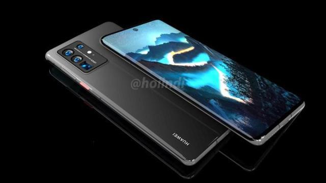 huawei p50 pronun render goruntuleri selale tasarim ekrani gosteriyor 1 6NAnYGHA - Huawei P50 Pro'nun render görüntüleri şelale tasarım ekranı gösteriyor