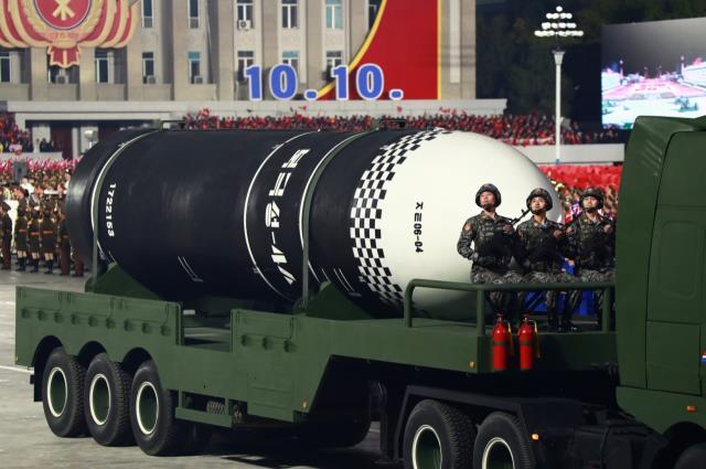 kuzey kore lideri kim jong undan abdye gozdagi dunyanin en guclu silahi devlet kanalinda tanitildi 2 dYfEpgSX - Kuzey Kore lideri Kim Jong-Un'dan ABD'ye gözdağı: Dünyanın en güçlü silahı devlet kanalında tanıtıldı