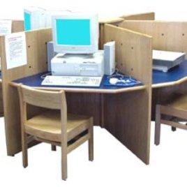 BM-09 Bilgisayar Labaratuvarı Masası
