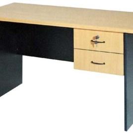 Çift çekmeceli ahşap öğretmen masası-OMK-01