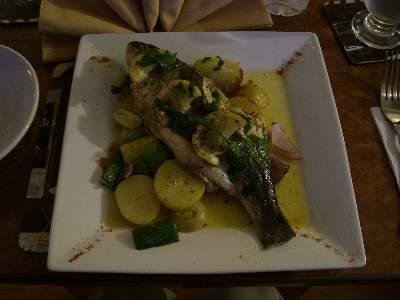 魚を焼いた料理