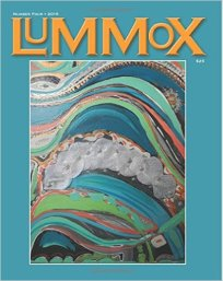 LUMMOX Number Four features 160 poets . Over ten percent of the contributors are from Canada.