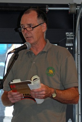 Keith Inman organized several readings during the 2015 festival.