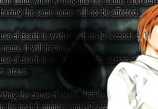 Yagami Light Death Note Kira