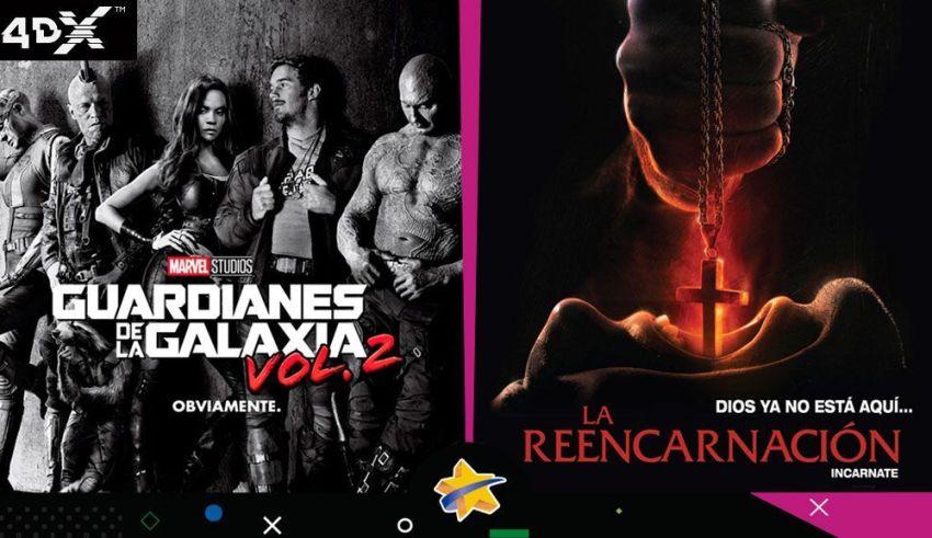 Guardianes de la Galaxia Vol. 2 Cinex Estreno