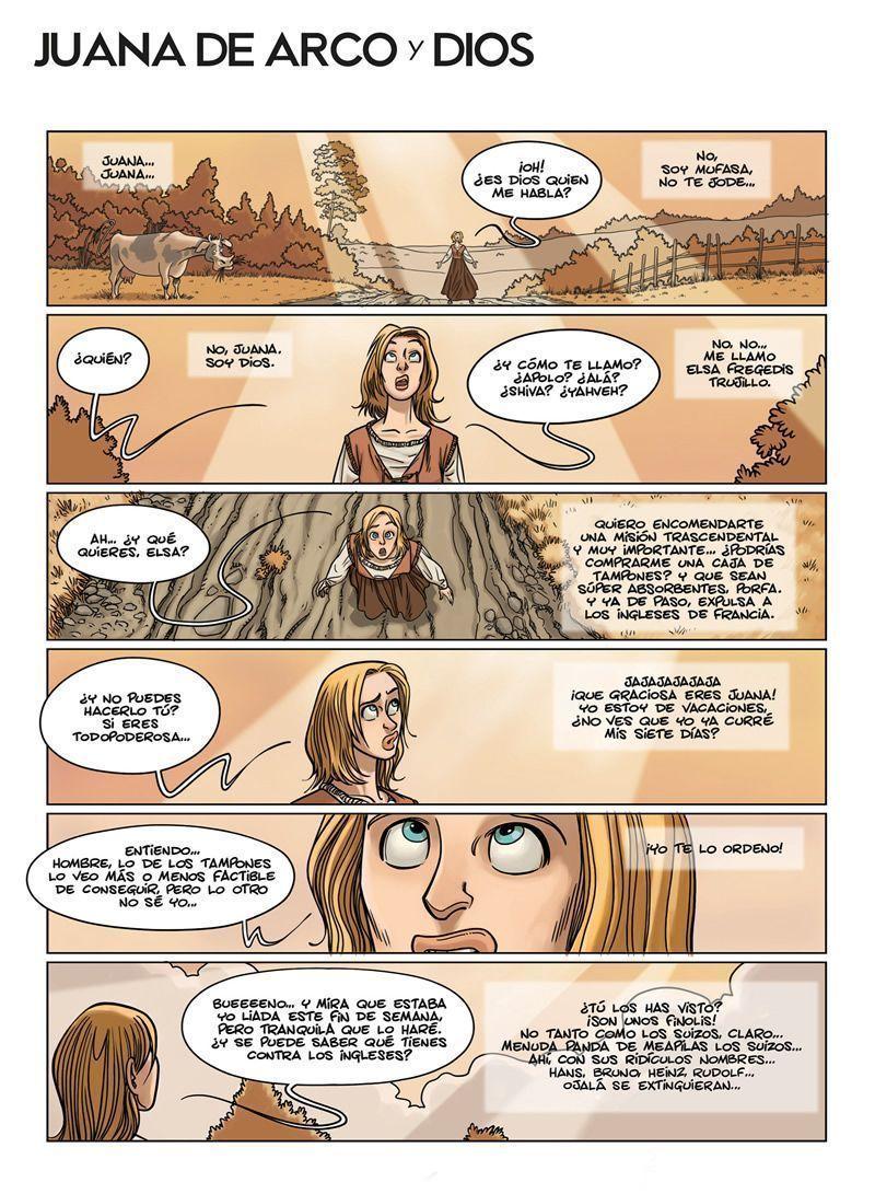 Juana de Arco y Dios