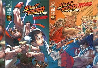 Cómic de Street Fighter