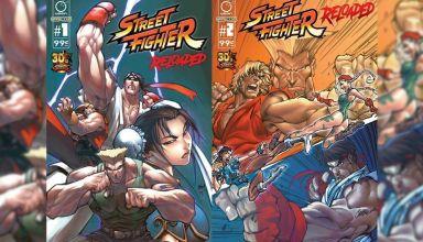 Cómic de Street Fighter