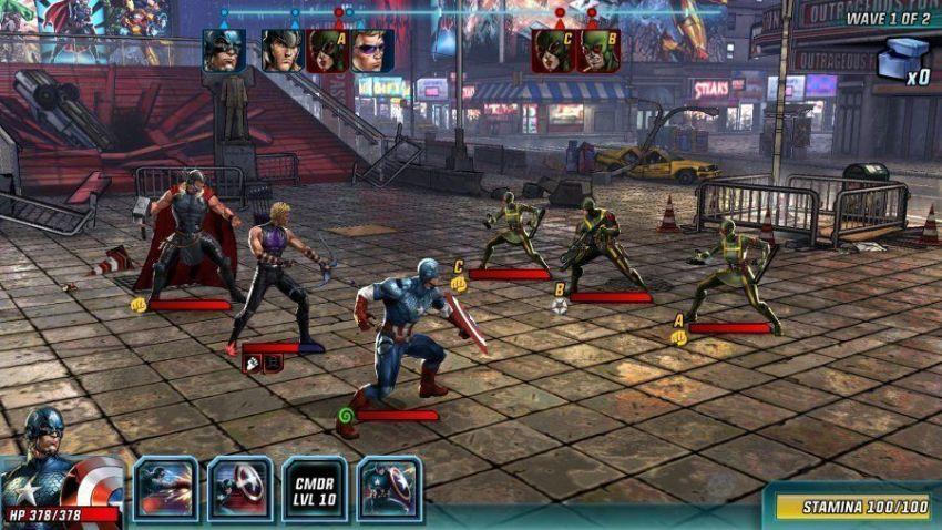 Marvel Avengers Alliance The Avengers Project