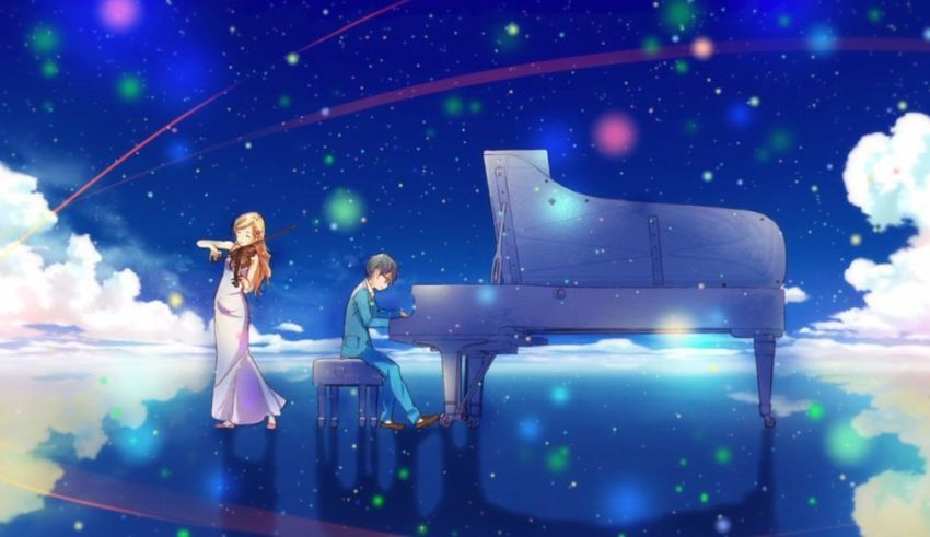 Your Lie in April Review Banner