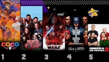 Taquilla Venezolana al 26 de Diciembre Coco The Last Jedi Justice League Cinex