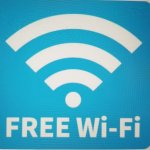 FREE Wi-Fi 始めました。