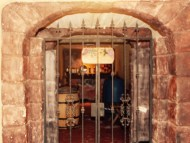 underground vaults storing their treasure