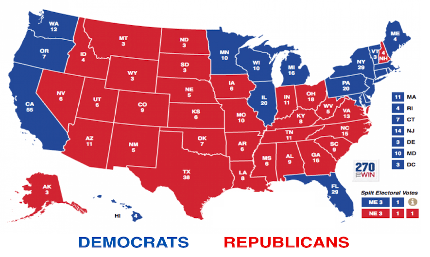 Electoral Map Doesn't Favor GOP