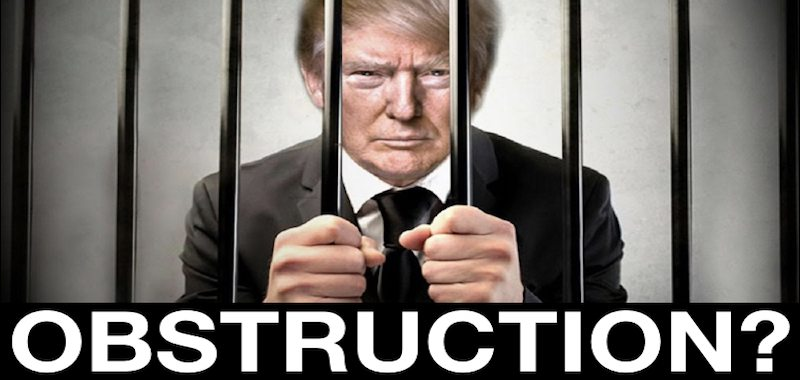 Obstruction Of Justice Against 'The Donald?'