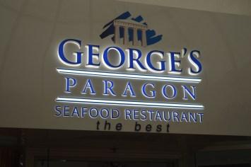 City shots & dinner @ George's Paragon 024