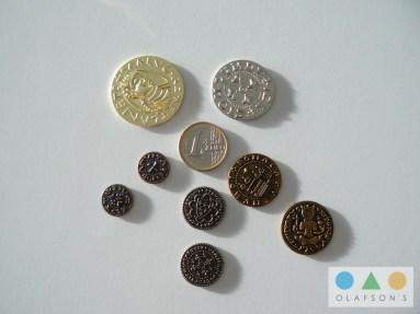 Größenvergleich mit Euro