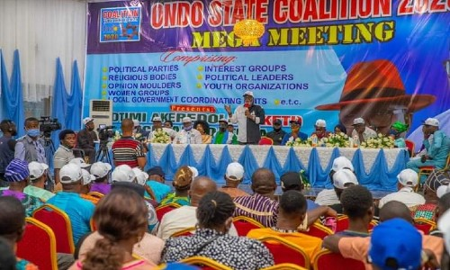 Ondo Set to Commence the Construction of a Deep Seaport- Akeredolu