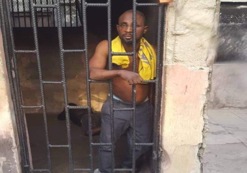 Man Who Filmed Police Brutality Yesterday At Onipanu To Be Arraigned Today in Court