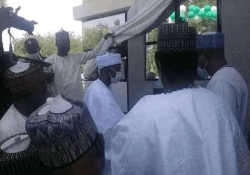 First Solar Powered Electric Car Charging Station Launched In Sokoto