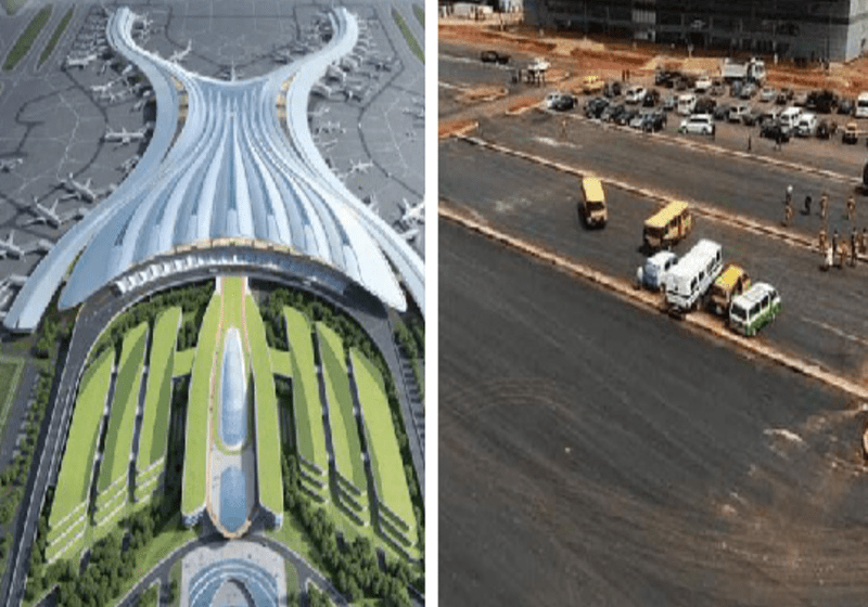 Reactions as Nigerians Compare China Airport to $2.2 Billion Anambra International Airport