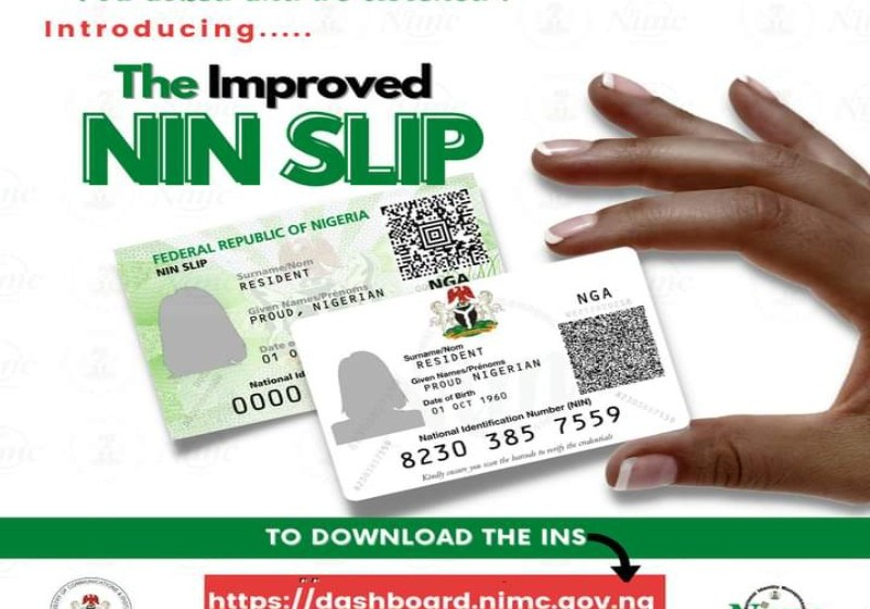 How to Download and Print The Improved NIN Slip