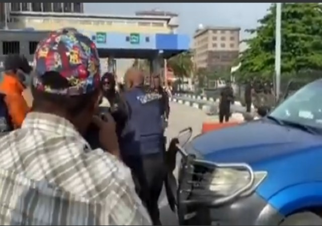 EndSARS Memorial: Police Arrest Passerby, Whisked Protesters to Unknown Location (Video)