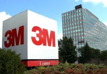 twincities.com The St. Paul, Minnesota headquarters of 3M Co., the maker of Scotch tape, medical inhalers and thousands of other products, is pictured on Monday, July 21, 2003. 3M Co., which makes medical inhalers, Scotchgard fabric protector and computer touch screens, said October 18, 2004, third- quarter profit rose, led by sales of pharmaceuticals and films for liquid-crystal-display televisions and monitors. Photographer: