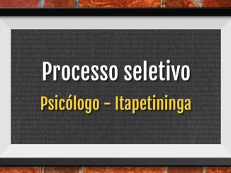 psicólogo concurso