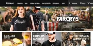 Loja virtual da Ubisoft Store