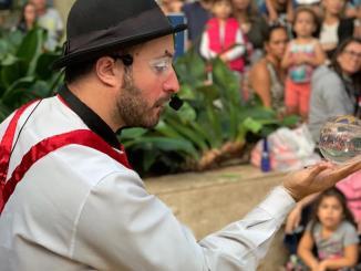 Programação infantil no Iguatemi Esplanada é atração do mês. Feira Cultural apresenta neste final de semana intervenção circense e oficina de circo