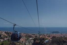Teleférico em Funchal - Credito Turismo da Madeira