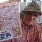 Documentário inédito exibiu história de jornal feito à mão, o Itapercanjo
