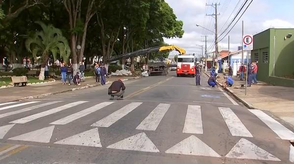Ruas de Itapetininga tiveram mudanças no trânsito devido a instalação do Hospital de Campanha