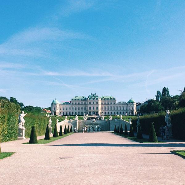 Vienna - Palais du Belvédère - Olamelama blog