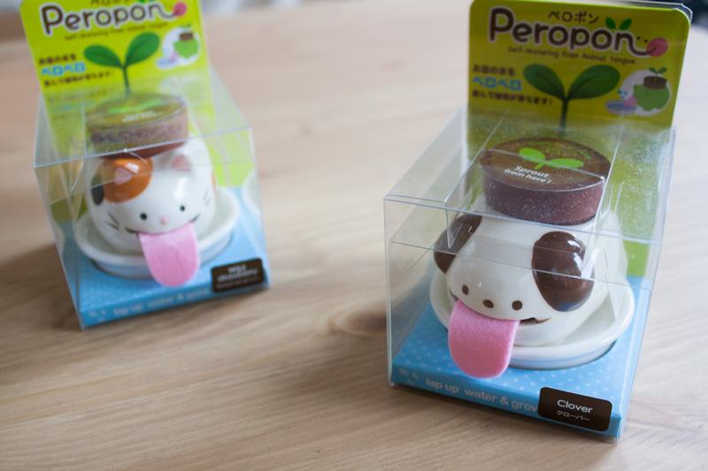 Packaging mignon et geek de pots de fleurs Peropon
