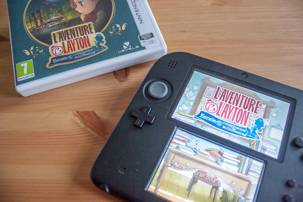 L'Aventure Layton Katrielle et la conspiration de millionnaires Jeu sur Nintendo 3DS