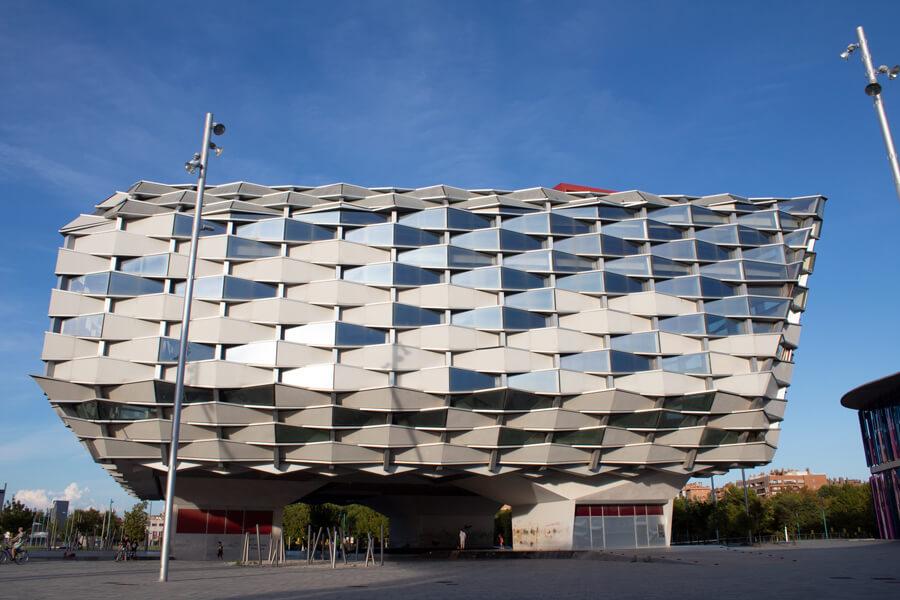 Roadtrip 2018 - Nord de l'Espagne - Saragosse - Expo Universelle 2008 - Pavillon Aragon